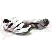 Pantofi ciclism Shimano MTB SH-WM80 Pearl Femei White