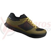 Pantofi ciclism Shimano off-road/gravity SH-AM501ME olive