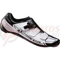 Pantofi ciclism Shimano road competition SH-R321WE Wide White