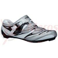 Pantofi ciclism Shimano Road SH-R133L White/Black