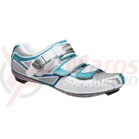 Pantofi ciclism Shimano Road SH-WR80 pentru femei Light Blue