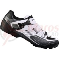 Pantofi ciclism Shimano Trail/Enduro SH-M163W White