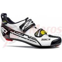 Pantofi ciclism sosea Sidi T alb/negru