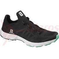 Pantofi drumetie salomon Amphib Bold black/wh/electric g femei