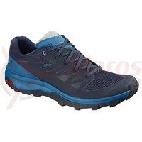 Pantofi drumetie Salomon Outline Gore-Tex navy blaze/indigo bun albastru barbati