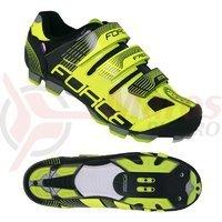 Pantofi Force Free MTB fluo/negru