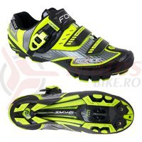 Pantofi Force MTB Carbon Devil fluo