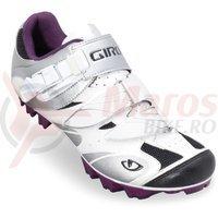 Pantofi MTB dama Giro Manta alb/roz