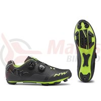 Pantofi MTB Northwave Rebel anthracit/acid green