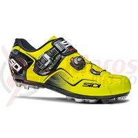 Pantofi MTB Sidi Cape galben fluo