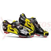 Pantofi MTB Sidi Drako Carbon SRS negru/galben fluo