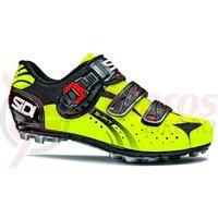 Pantofi MTB Sidi Eagle 5-Fit negru/galben fluorescent