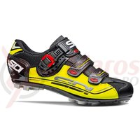 Pantofi MTB Sidi Eagle 7 negru/galben/negru