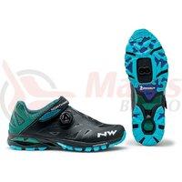 Pantofi Northwave All Terra Spider Plus 2 negru/albastru