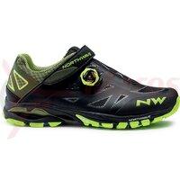 Pantofi Northwave All Terra Spider Plus 2 negru/galben fluo