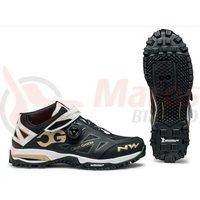 Pantofi Northwave All Terrain Enduromid negru/alb/auriu