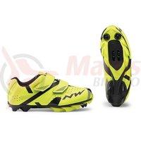 Pantofi Northwave MTB Hammer 2 Junior galben fluo/negru