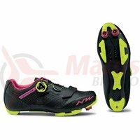 Pantofi Northwave MTB Razer WMN negru/fucsia/galben