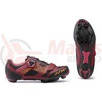 Pantofi Northwave MTB Razer WMN rosu inchis/negru