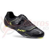 Pantofi Northwave Road Sonic 2 Plus negru/galben
