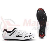 Pantofi Road Northwave Core 3S albi