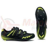 Pantofi Road Northwave Core 3S negru/galben