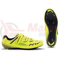 Pantofi Road Northwave Core 3S yellow fluo/black