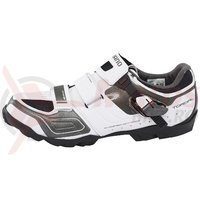 Pantofi ciclism Shimano Trail SH-M089WE Wide White