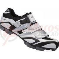 Pantofi Shimano SH-XC50 alb/negru