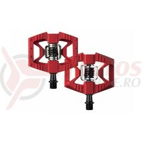 Pedale Crank Brothers Doubleshot 1 rosii