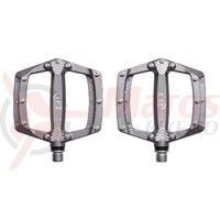 Pedale Cube RFR Flat SL Titanium argintii