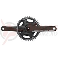 Pedalier Sram Red 1x AXS D1 Quarq DUB Powerm. w/o DUB-bear. 172.5mm 40T 12v.