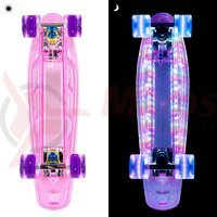 Penny board fosforescent WORKER Lumy 100 22''