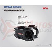 Pipa DH Alu.CNC Zoom 446N-8 31,8 unghi 0' L45 titan anodizat