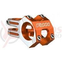 Pipa Funn Funnduro DJ Full CNC 31,8x60mm H:30mm portocaliu anodizat cu laterale argintii