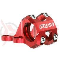 Pipa Funn RSX Light mont.directa R.S.Boxxer 35mm ridicare+35 ajustabila 45&50mm rosu anodizat