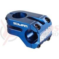 Pipa Funn Soljam 31,8mm ridicare+/-10 L50mm albastru anodizat