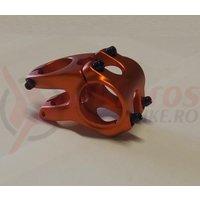 Pipa Zoom Tequila TDS-RD605-8 alu 3D forjat 35mm ridicare -12 L40mm portocaliu anodizat