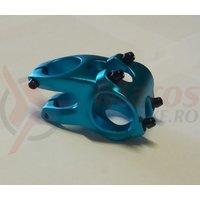 Pipa Zoom Tequila TDS-RD605-8Fov alu 3D forjat 31,8mm ridicare -12 L40mm albastru anodizat