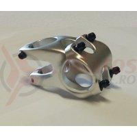 Pipa Zoom Tequila TDS-RD605-8Fov alu 3D forjat 31,8mm ridicare -12 L40mm argintiu anodizat