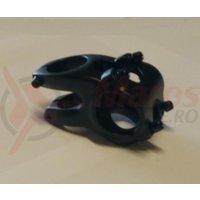 Pipa Zoom Tequila TDS-RD605-8Fov alu 3D forjat 31,8mm ridicare -12 L40mm negru anodizat