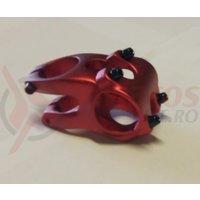Pipa Zoom Tequila TDS-RD605-8Fov alu 3D forjat 31,8mm ridicare -12 L40mm rosu anodizat