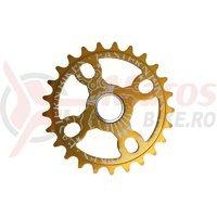 Placa BMX Eastern Bikes Medusa Light 25T gold