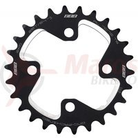 Placa pedalier BBB MTBGear comp. 2x10 Shim. XT 26T/64mm