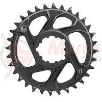 Placa pedalier Sram X-Sync2 Eagle Boost 11/12v. 30T neagra otel 3 mm offset