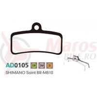 Placute frana Ashima AD0105 ceramic compatibile Shimano Saint BR-M810
