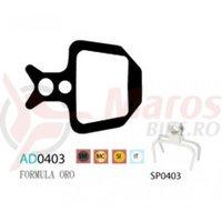 Placute frana Ashima AD0403 ceramic compatibile Formula Oro.