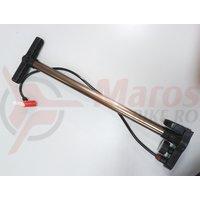 Pompa aluminu podea DHS AV/FV cu manometru