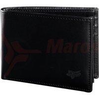 Portofel Bifold Leather Wallet [blk]