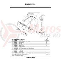 Prelungitor Valva Shimano WH-9000-C75